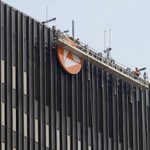 .@PNCBank adds a little orange and its name to Downtown #Akron skyline @ohiodotcom https://t.co/XSaIbjJ8Wz https://t.co/rNjUkOKQsT
