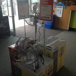 A hot Saturday afternoon Come to Maplin Barnsley We still have fans in stock To cool you down #barnsleyisbrill https://t.co/WT7GDPd3Ja
