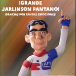 #PantanoMasCombativoTour2016 @jarlinsonpantan ¡Grande Jarlinson Pantano!, !gracias por tantas emociones! https://t.co/SISzdn4bSW