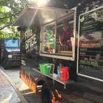 Breakfast on the square with @hindsightcoffee And Manic Organic  food truck @DowntownHSV https://t.co/zYaB7XEUrd
