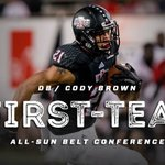 Congrats to Cody Brown on being named pre-season 1st Team All SBC! https://t.co/kNMUBpmY7F
