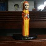 Meet Saint Clare, the Patron Saint of Television! Thanks! #ALDUBSuperMA @EatBulaga https://t.co/CX3D1y6BTu