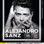 Hoy a disfrutar de la #GiraSirope en el festival @musicaengrande de Santander con @AlejandroSanz #DejaQueTeBese 💋 https://t.co/jB6nQ3PkI5