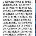 Creo q alguien debe aclarar quién final% construyó la cancha, la muní de #Iquique dice No y la Fed de Tenis dice 👇🏼 https://t.co/KT1kYfFlvK