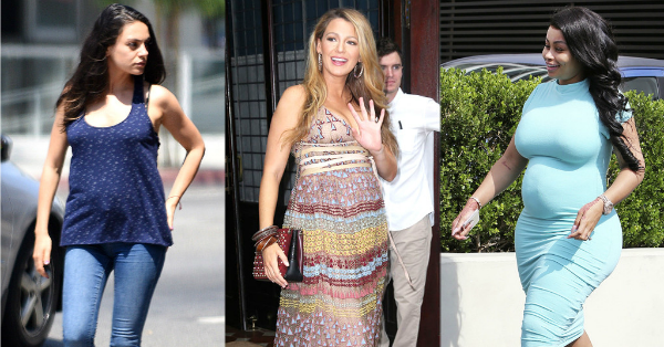 Blake Lively, Blac Chyna, and Mila Kunis make their second pregnanices look like a cakewalk.