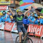 Haz RT para felicitar a Ion Izagirre del @Movistar_Team por su victoria de etapa del #TDF2016 https://t.co/7wEGpGcTNV