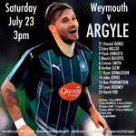 How the lads line up this afternoon #pafc #WEYARG https://t.co/EkaRDgeTtW