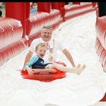 Today the Mayor & his son Jason enjoy the Giant Water Slide #Dublin #BigSlideHome https://t.co/QMG8o5buxp https://t.co/lGlT5jJGIw
