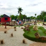 Beautiful afternoon at the Pirates cove minigolf adventure #doncasterisgreat #barnsleyisbrill https://t.co/skzT5qXpev
