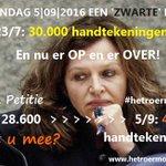 MIJLPAAL: 30.000 handtekeningen voor petitie #HetRoerMoetOM Lees https://t.co/fGw5OP4ovN @TimeToChangeNL #GGZ #Zorg https://t.co/Da6EkrL3QP