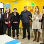 Autoridades en liceo DIego Portales antes de inicio del Cabildo Provincial #UnaConstitucionParaChile  #MiCabildo https://t.co/jbgRYHzuvm