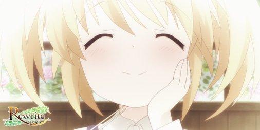 TVアニメ「Rewrite」第4話、ご覧頂きありがとうございました!いかがでしたでしょうか。 #re…