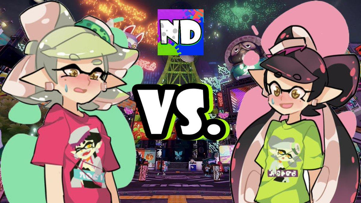 RT @SplatoonNA: Watch @Nintendome's amusing Callie vs. Marie #Splatfest dance battle! https://t.co/7InwpYANvx https://t.co/HyWwH1Tg6A