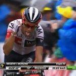 #TDFxESPN ¡Otra etapa histórica para Jarlinson Pantano! Terminó 2do, a pocos segundos del ganador Izagirre. https://t.co/Dlj446wOK3