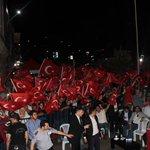"""""""İkinci bir emre kadar meydanları boş bırakmıyoruz."""" Teşekkürler Trabzon.. #GururDuyTürkiye #Trabzon https://t.co/gCSArlYvhg"""