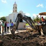Supervisamos el avance de las obras de mejoramiento de imagen urbana en el Barrio de San Román. #UnidosParaCrecer https://t.co/1Z4pdKghYp