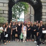 #tapas time in #Dublin with our lovely hen party! 🍷🎉🍴💃🏿💍 https://t.co/qg82Pnq04b