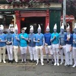 Kudos the Smurf Stag outside Kehoes today. Photo by @DublinTown #Dublin https://t.co/ygTzmza29L