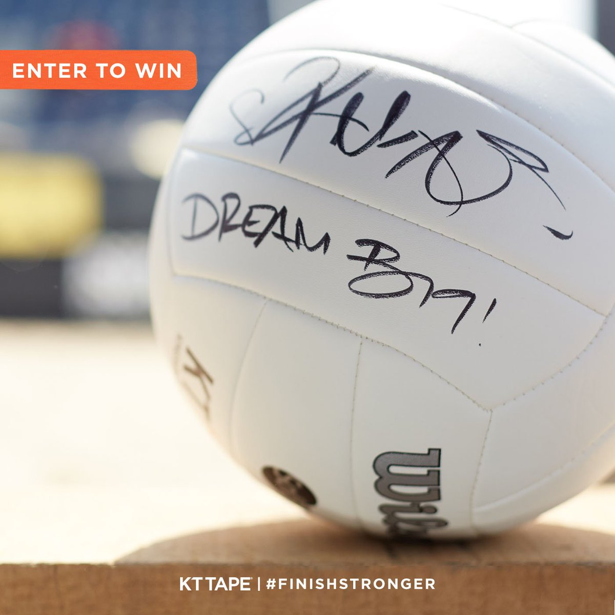 Serve up summer fun with a @KerriLeeWalsh-signed volleyball. Share for your chance to win. [https://t.co/zdlAPhrM51] https://t.co/KO5Zc0EeP1