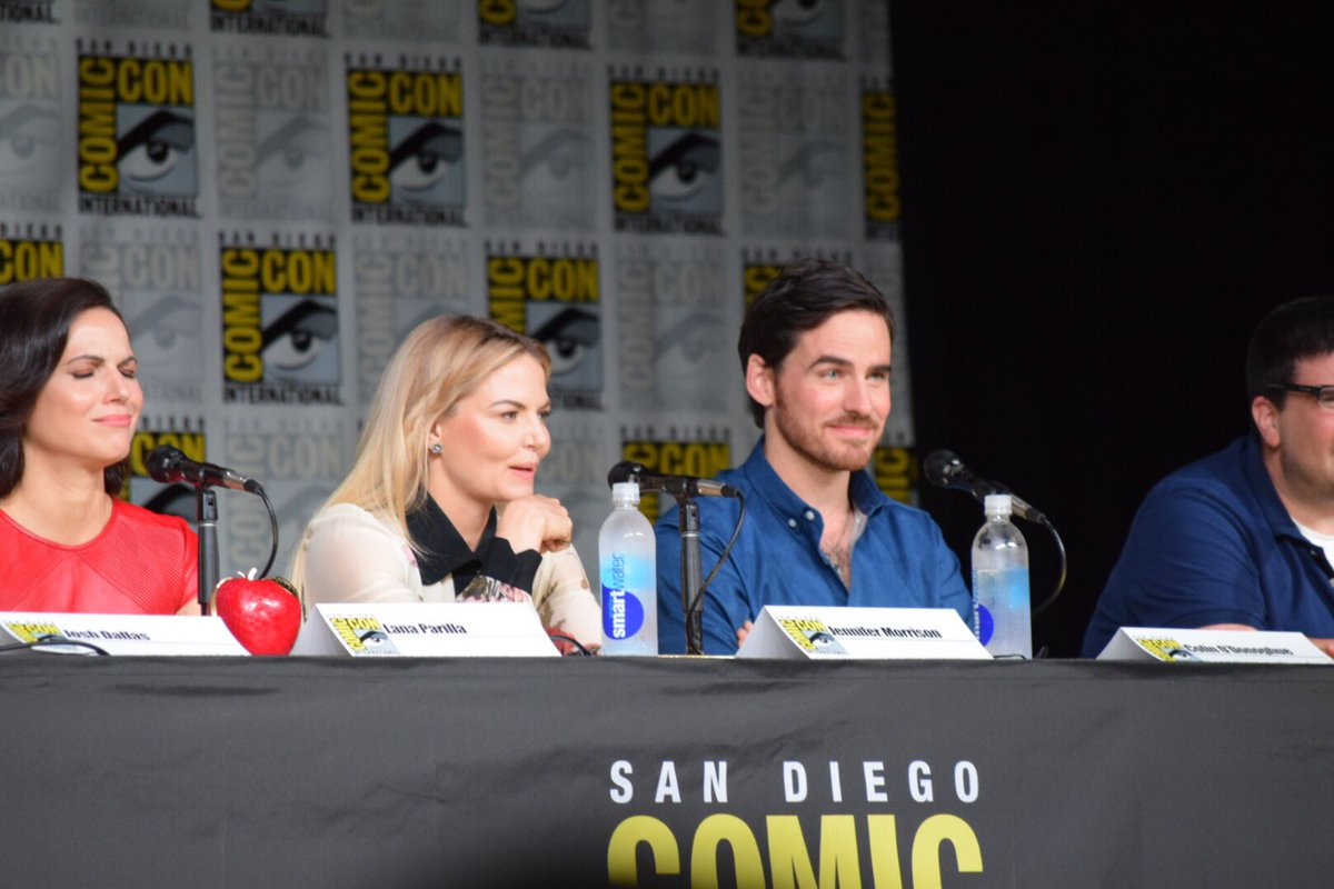 """I was very excited to be in leather pants!"" @colinodonoghue1 #OUATSDCC #OnceUponATime #sdcc https://t.co/pyWSCIhyc6"