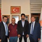 Demokrasi Nöbetimize katılmak üzere Trabzona gelen Uğur Işılakı İl Başkanlığımızda misafir ettik. #DarbeAnınıYaz https://t.co/ArQl6R6NhL