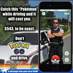 A friend sent me this. Very clever!!! #pokemongo #DistractedDrivers #rcmp https://t.co/I9uNS2TDkS