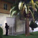 Incendio de una palmera junto al número 96 de la Avda. de Andalucía. Bomba Urbana Ligera y 4 efectivos. 22:08 horas. https://t.co/S5dUaSVrmG