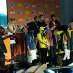 . #Cosplay Finale At Jordan Games Week  #JGW #Jordan #Amman #VideoGames #UmniahGamesWeek  #JordanGamesWeek https://t.co/TRfj4FFzZn