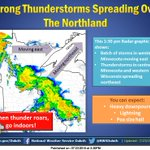 Storms expected across the northland. #wiwx #mnwx https://t.co/UnULkegdQH