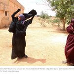 Elated women remove niqabs after village freed from I.S. Participation in public life starts with a face https://t.co/aVjZ2YwHx7