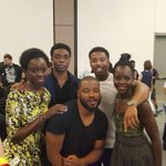 LOOK AT THIS BEAUTIFUL ALL BLACK CAST OF BLACK PANTHER https://t.co/bIbOkcjZuP