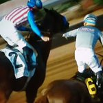 As @CalChrome brings it home, Gary Stevens on Dortmund tips his crop to @EspinozasVictor . @DelMarRacing 🏇🔥🐎 https://t.co/NLIWHrp8x7
