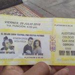 @arizaga_a  yo ya tengo mi entrada reina y a la vez chambeo duro #ElArmarioDeAngie este 29 entrada en CARSA trujillo https://t.co/ZoHXwKPknK