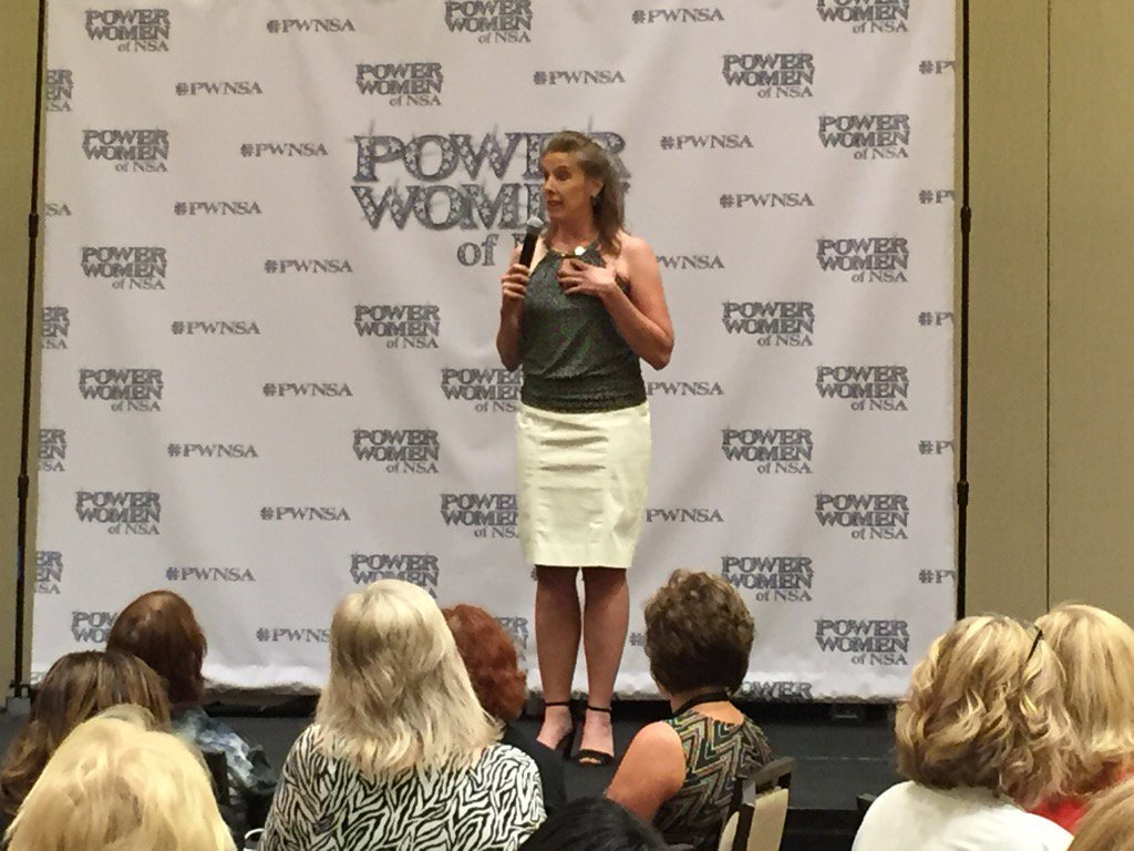 Body language makes a difference on stage... Don't lose your power. #PWNSA https://t.co/otiSyPqvPG