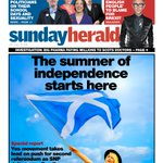 Our front page The Summer of Independence starts here #scotpapers https://t.co/dLJqncRzSA