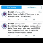 Kolo Toure = 35 years old Clint Hill = 37 years old https://t.co/Qzjt3JvEKx