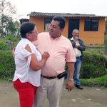 #EsUnHecho Alcalde @jcardonaleon recorre obras de la vía Alto del Guamo- Hoyo Frío. La comunidad agradece. https://t.co/UDfXd3Pvcl