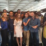 [PICTURE] Alycia with the #FearTWD cast at SDCC (via feartwd on instagram) https://t.co/byniZYyULp