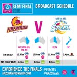 Game day! Heres how to catch all the action from our semi final clash with Southern Steel. #PurpleSquad #FIRvSTE https://t.co/kP1oaw8qfd