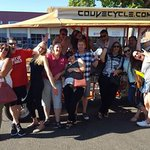 #HappySaturday from the sales staff! Also we HIGHLY approve of the new @couvecycle brew tour in #VanWa https://t.co/324Cvf97TD