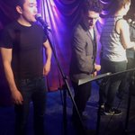 Sound check at The West End Lounge! #Ludo #BrokenBride #Musical #NYC https://t.co/j5DPSmFjSI