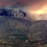 Aerial photos of the #SandFire from our chopper: https://t.co/YjT5bM8Ohd