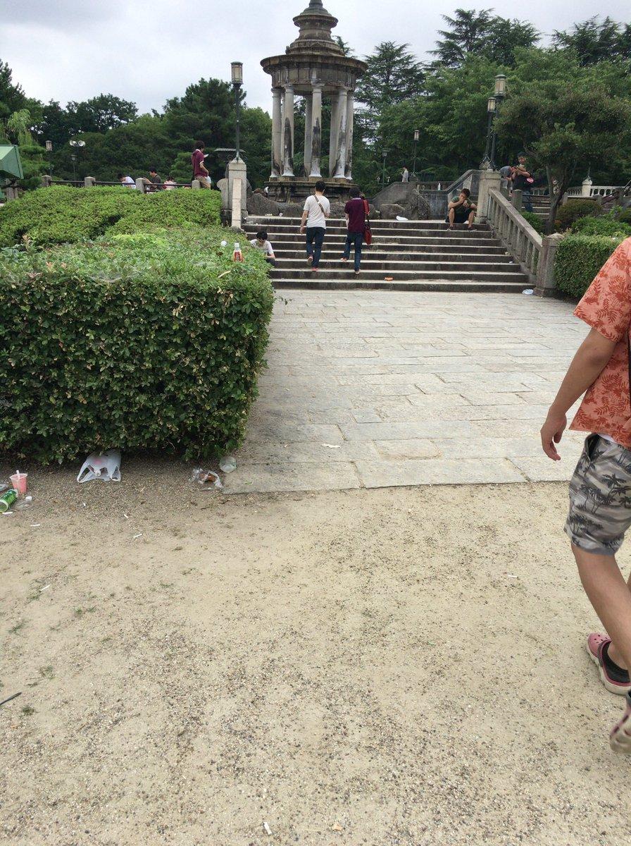 お分かりいただけるだろうか、 ポケモンの聖地と言われた鶴舞公園の隅々にモラルの無いゴミトレーナーが撒…
