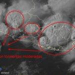Imagen Satelital muestra campo nuboso sobre Zona Paracentral, desplazándose hacia el Centro-Occidente del país. https://t.co/rDKJXWG8r4
