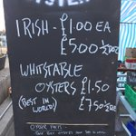 The Whitstable Oyster Festival - amazing, fresh seafood and lovely old British seaside town: https://t.co/ZT71CuF0RW