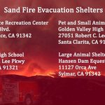 Some resources to help if youre affected by the #SandFire #LA https://t.co/Xy8yrN5m5E