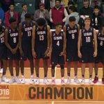 🇺🇸🏅🏅  @CoachTurgeon and @KevinHuerter help the #USABMU18 take down Canada to win the #FIBAU18Americas title! https://t.co/Nej9V12ccP