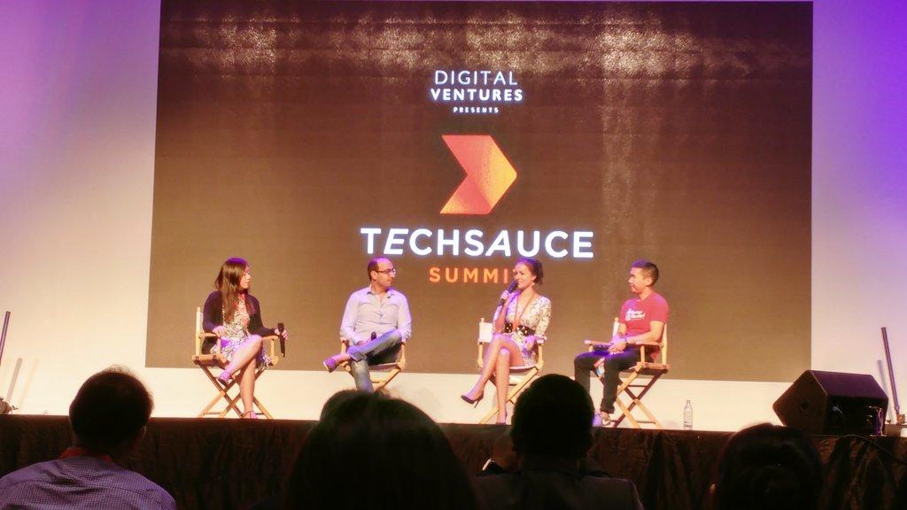 . @elishatan with the rockstars from @startupmega @Seedstars and @techstars #techsaucesummit2016 #techsaucesummit https://t.co/N95nNnnEfl