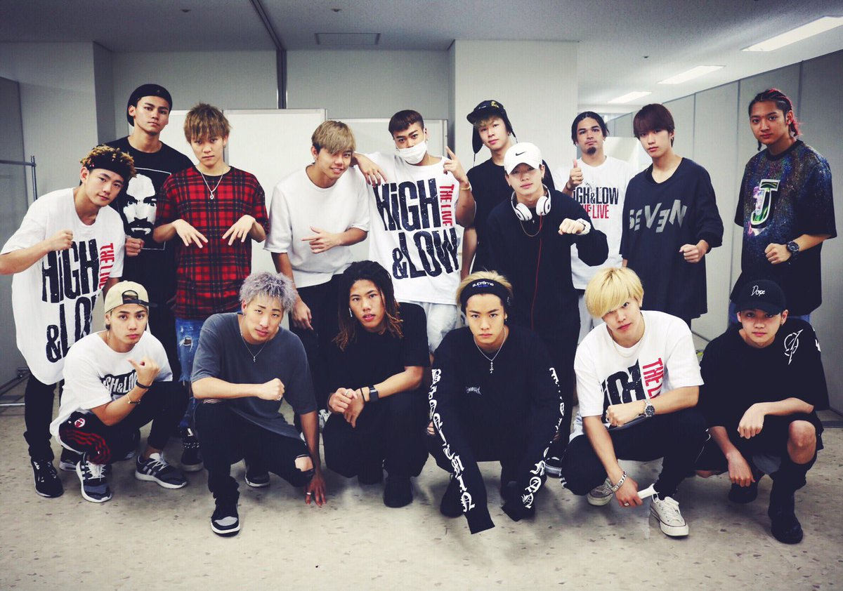 会場到着しました! HiGH&LOW THE LIVE大阪公演3日目👊🏾! 会場でお待ちしております…