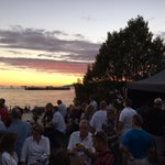 Fantastic view from The Keg Lounge for @celeboflight. The Netherlands is on at 10pm sharp. #WeAmaze #CelebOfLight https://t.co/2dN433l0Y6